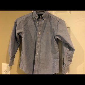 Boys POLO RALPH LAUREN shirt size 7